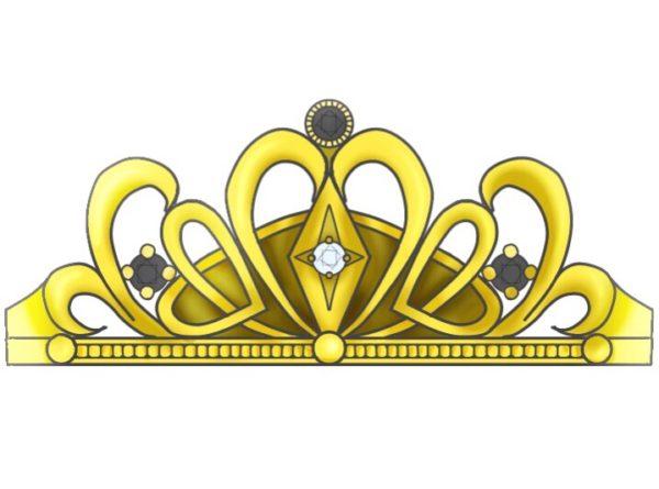 ゴールドティアラの結婚指輪  メンズデザイン 1