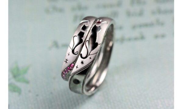 結婚指輪に入れるねこの模様の種類