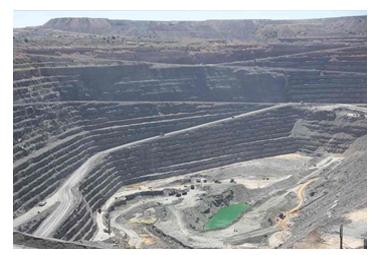 ボツワナの鉱山・ジャンワン鉱山