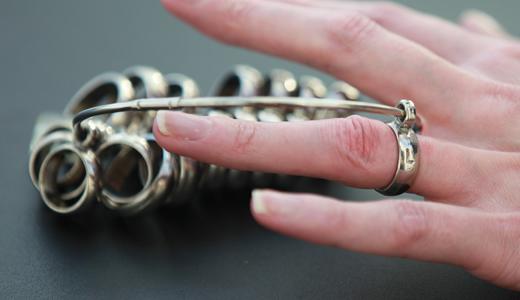 .結婚指輪をピッタリのサイズと幅でオーダーできる!