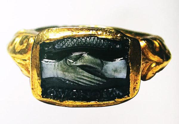 3世紀 ローマ時代の結婚指輪