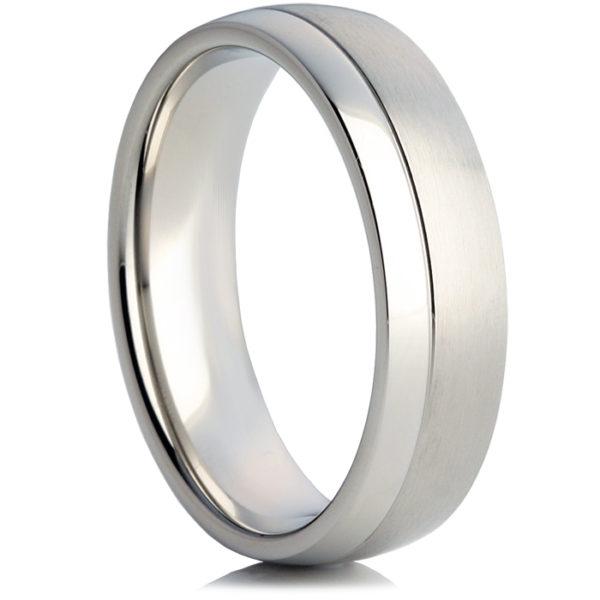 メンズ・パラジウムのオーダーメイド結婚指輪