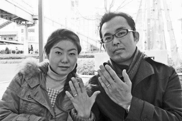 ふたりで歩んだ10年目の結婚指輪を磨いて
