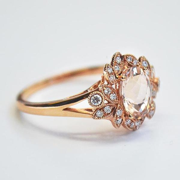 アンティークなミルグレインのオーダーメイド結婚指輪がなぜ人気?!