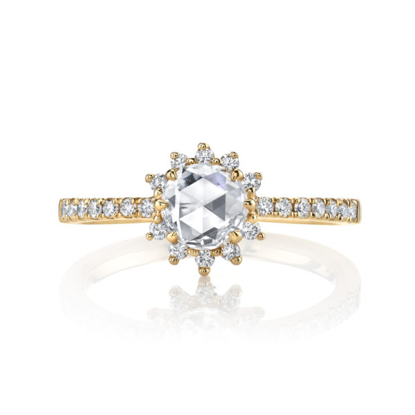 ローズカットダイヤモンドはアンティークカットの中でも最も美しいカットの1つ