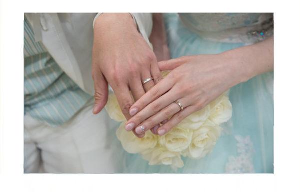 本当に素敵な結婚指輪をありがとうございます