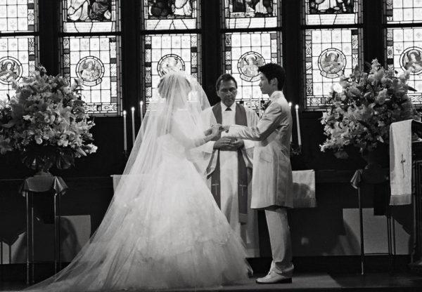 ステンドグラスが輝く柏で人気の結婚式場からのお便り M様千葉・柏