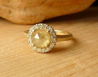 ローズカットダイヤモンドの人気が高くなってきた