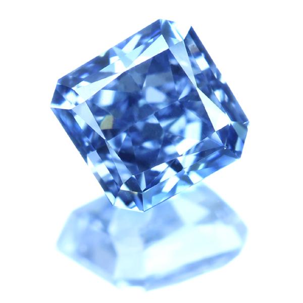 非常に希少で高価なブルーダイヤモンド