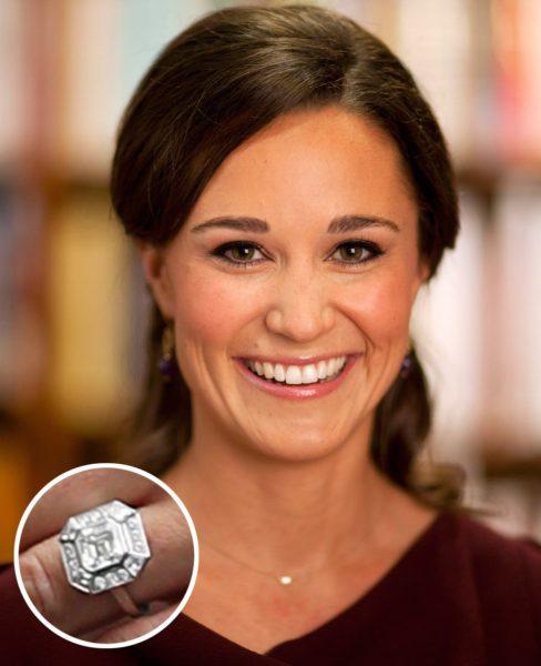 ピッパミドルトンのオーダーメイド婚約指輪