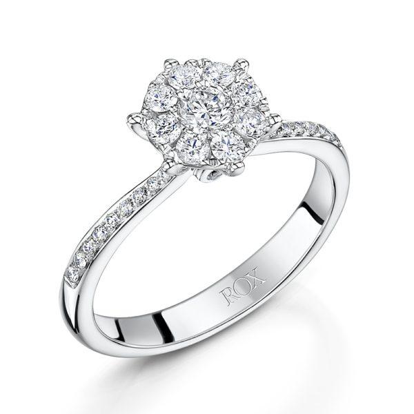 ダイヤの5つのCを組み合わせて良い婚約指輪を安くオーダーする!
