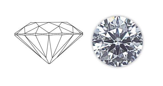 光るダイヤモンドはカットで決まる!