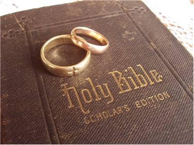 .結婚指輪の宗教的伝統