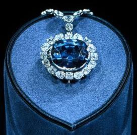 ブルーダイヤモンドのホープダイヤモンド