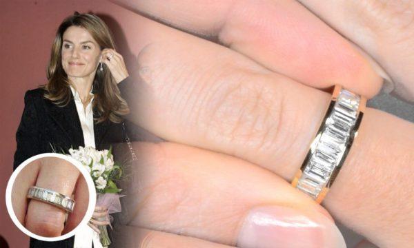 スペイン王室レティシア妃の婚約指輪
