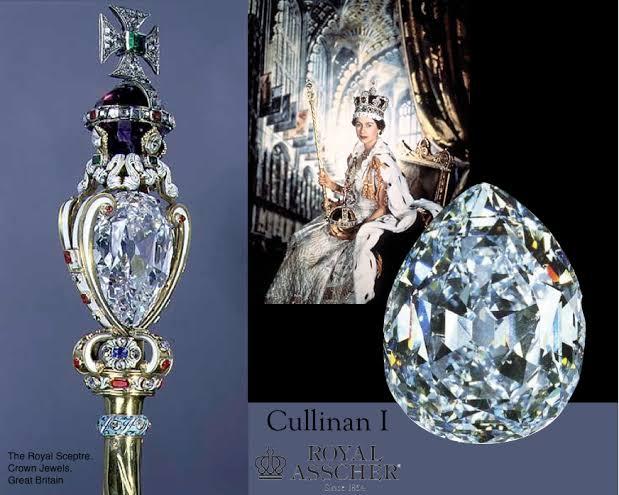 530.2カラットのカリナンダイヤモンド
