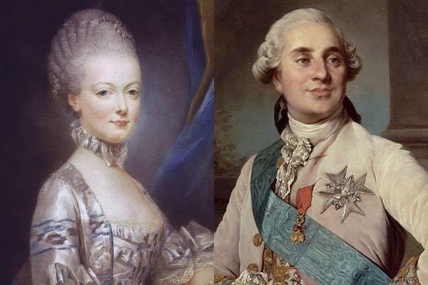 ルイ16世とマリーアントワネット