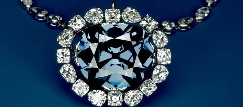 魅惑青い光.ホープダイヤモンド