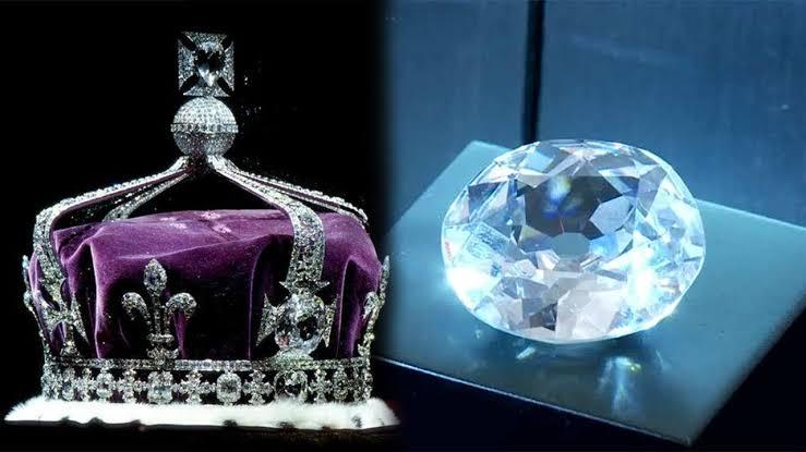 105.60カラットのコイヌールダイヤモンド