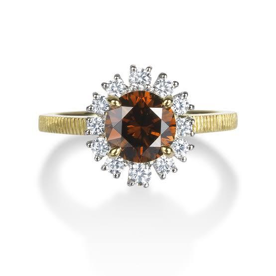 ブラウンダイヤモンドの種類