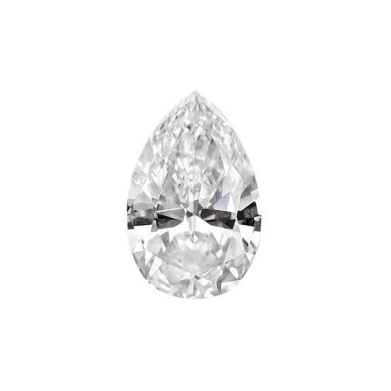 洋ナシ形のペアシェイプカットダイヤモンド