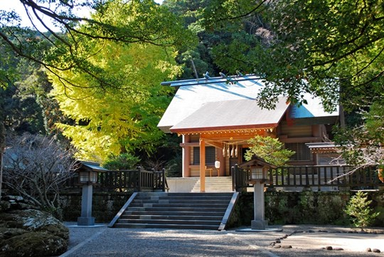 安房神社・千葉の日本3大金運神社で結婚奉告祭をする