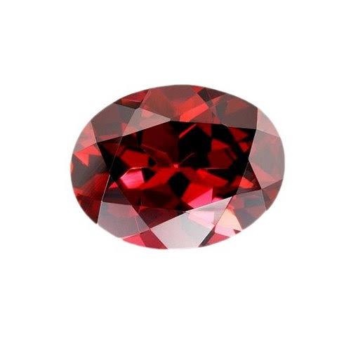 1月の誕生石 . ガーネットを結婚指輪の内側に