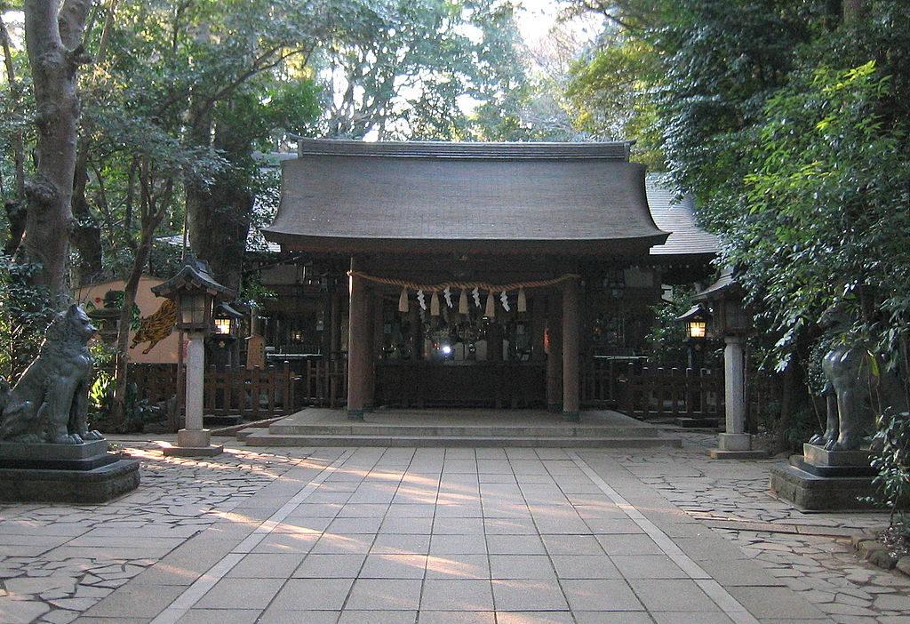 諏訪神社・千葉/流山の結婚奉告祭のできる神社