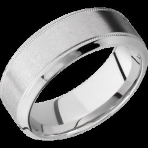 K18ホワイトゴールドで結婚指輪をオーダーメイドする