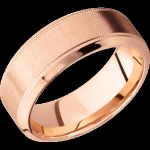 K18ピンクゴールドで結婚指輪をオーダーメイドする