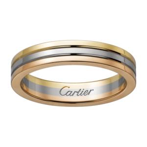 男性結婚指輪カルティエ・トリニティマリッジ