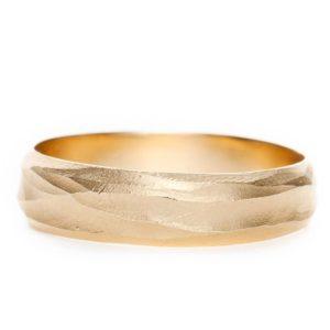 男性結婚指輪18Kメンズゴールド