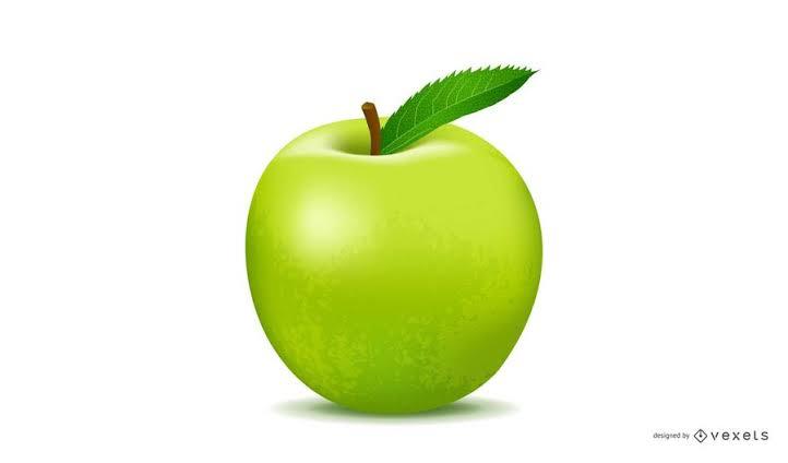 結婚指輪に入れる青いリンゴのイメージ画像