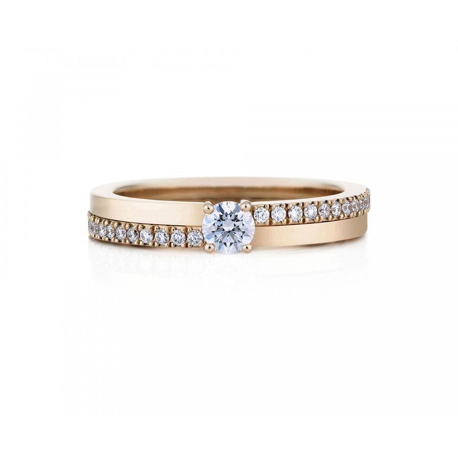 花嫁が好むオシャレで普段使い出来る婚約指輪オーダー作品15選!