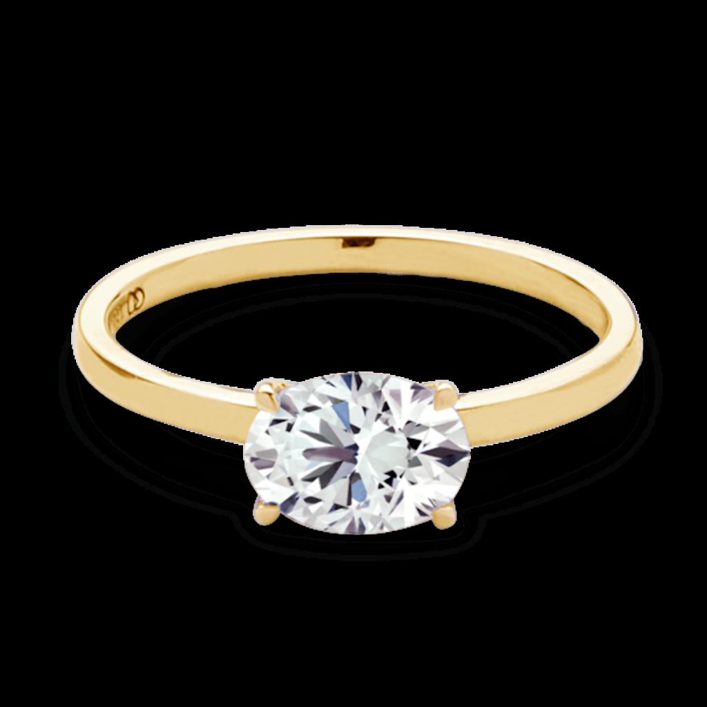 20万円未満のゴージャスな婚約指輪をオーダーメイドした15のリング