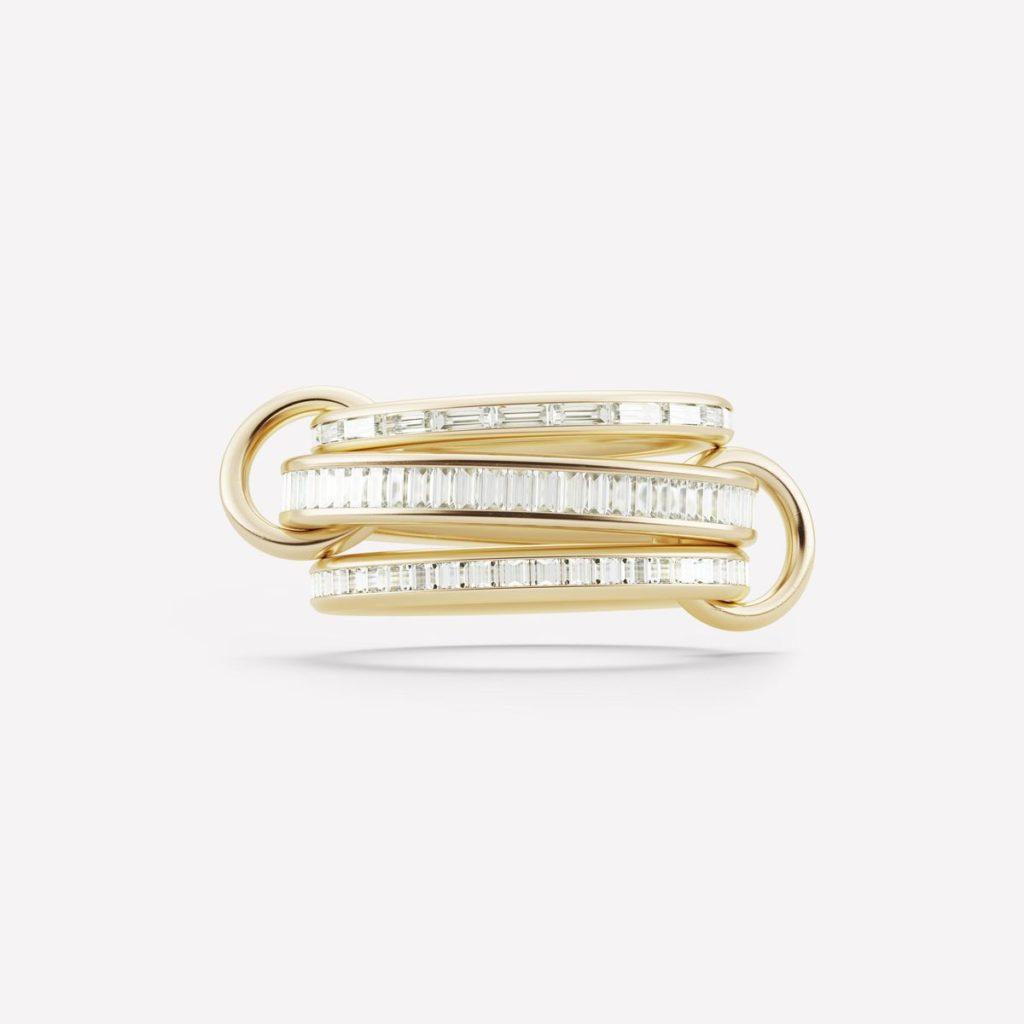 バゲットダイヤのオシャレなオーダーメイド結婚指輪ベスト60 その3