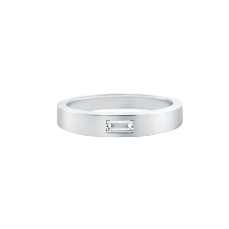 ハリーウィンストン・バゲットダイヤの結婚指輪