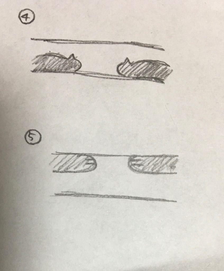 お客様が描いたラフ画