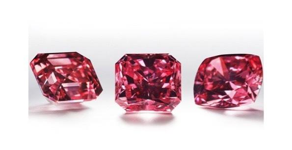 アーガイル鉱山からは赤いレッドダイヤも採掘される
