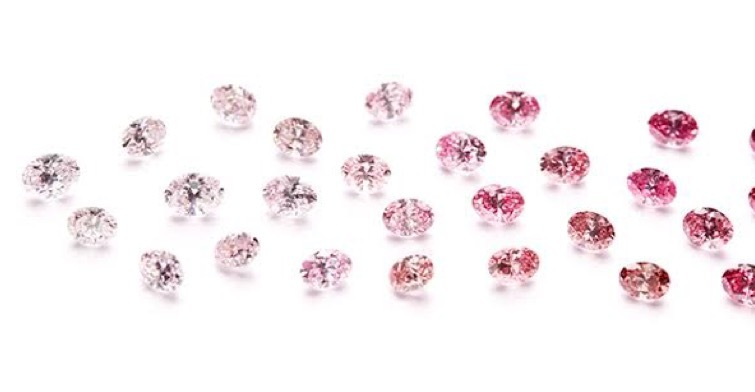 ピンクダイヤはその色によって値段が全く違う
