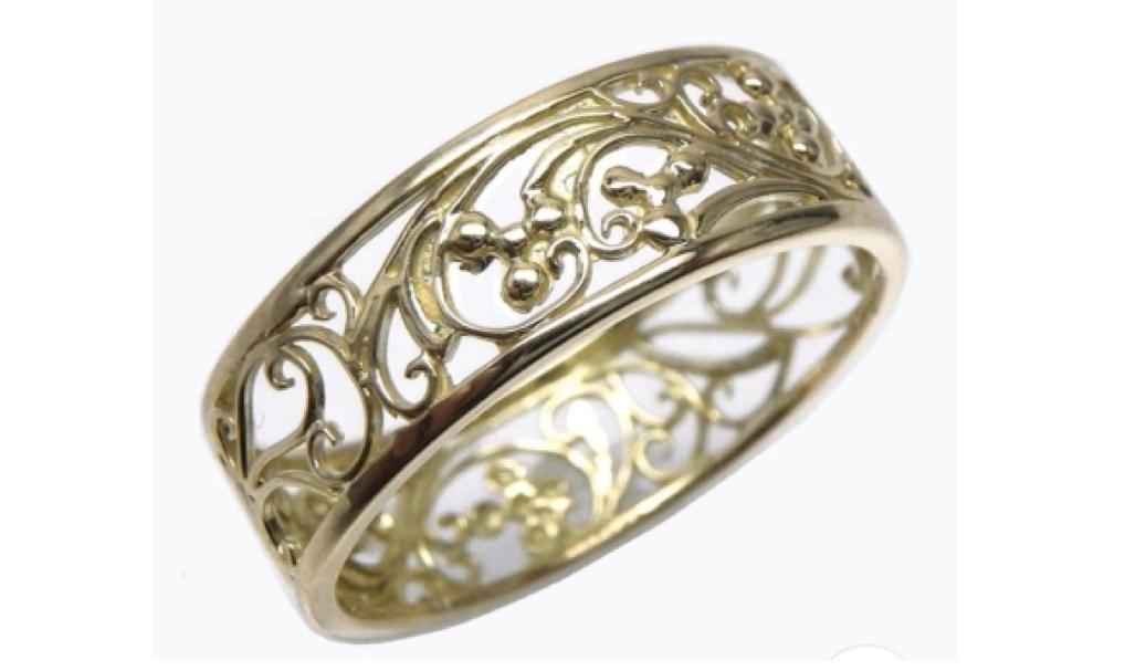 バラの婚約指輪イメージ 3