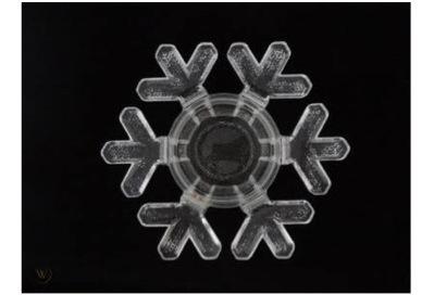結婚指輪に雪の結晶をデザインする