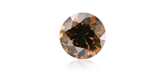 ブラウンダイヤモンドのルース画像