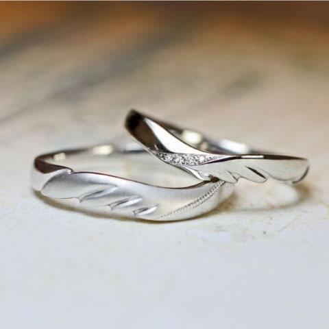 羽・翼の結婚指輪