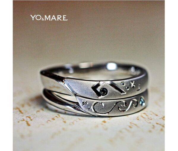 ヘ音記号のメンズ結婚指輪が欲しい!