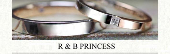 ピンクゴールドとプラチナをハーフでつないだオーダーメイド結婚指輪の画像
